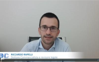 Dottor Riccardo Rapelli – Misure di sostegno per la liquidità delle imprese